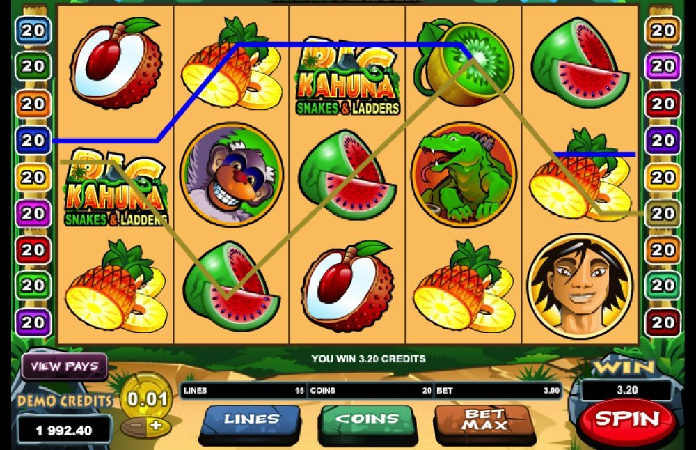 Big kahuna snakes amp ladders slot machine review 2020