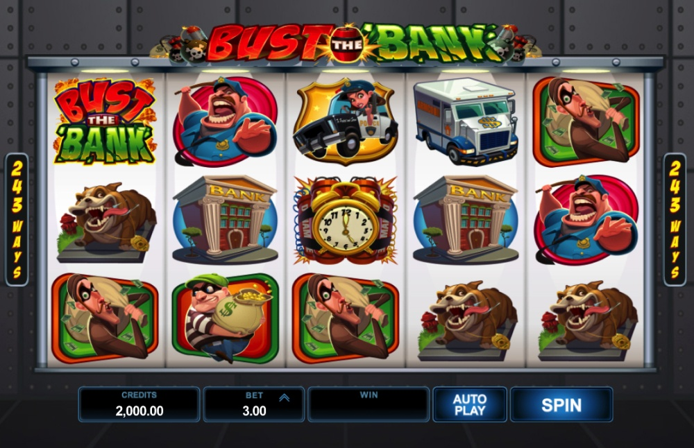 Bust the Bank Screenshot 1