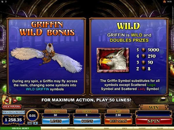 Great Griffin Slot - Review & Play this Online Casino Game