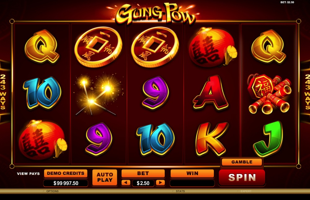 Gung Pow Screenshot 1