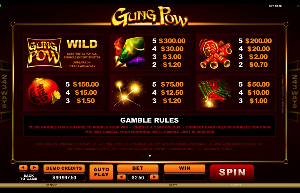 Gung Pow Screenshot 2