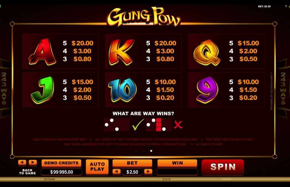 Gung Pow Screenshot 3