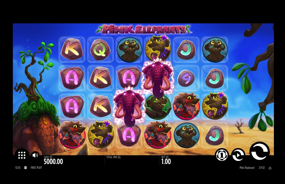 Pink Elephants Screenshot 1