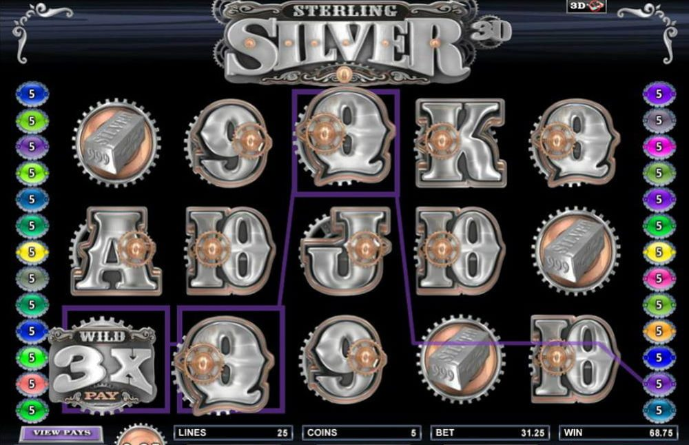 Sterling Silver 3D Screenshot 1