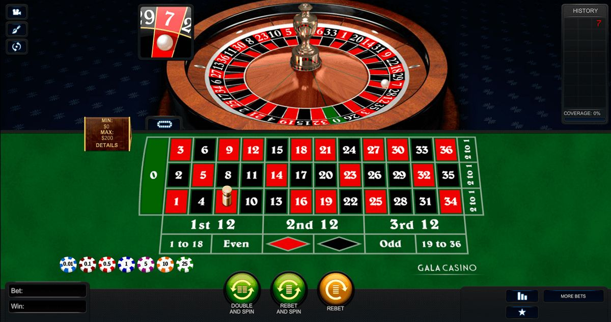 Roulette 3d game preview