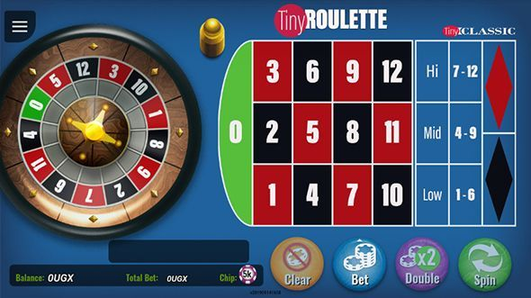 Mini roulette game preview