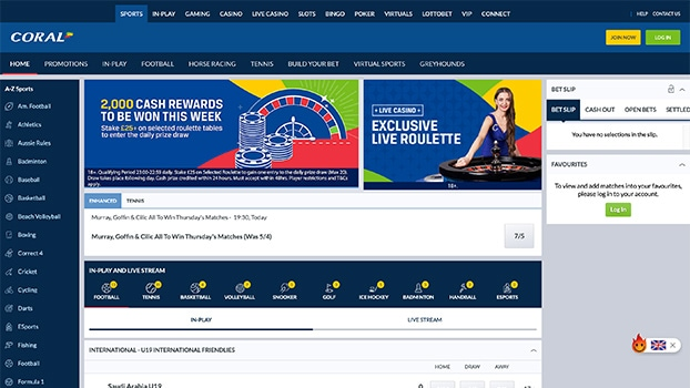 coral online betting phone number