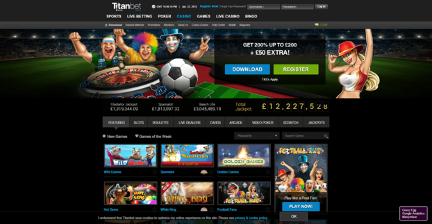 Titanbet casino review in 2020 up to вј200 free here