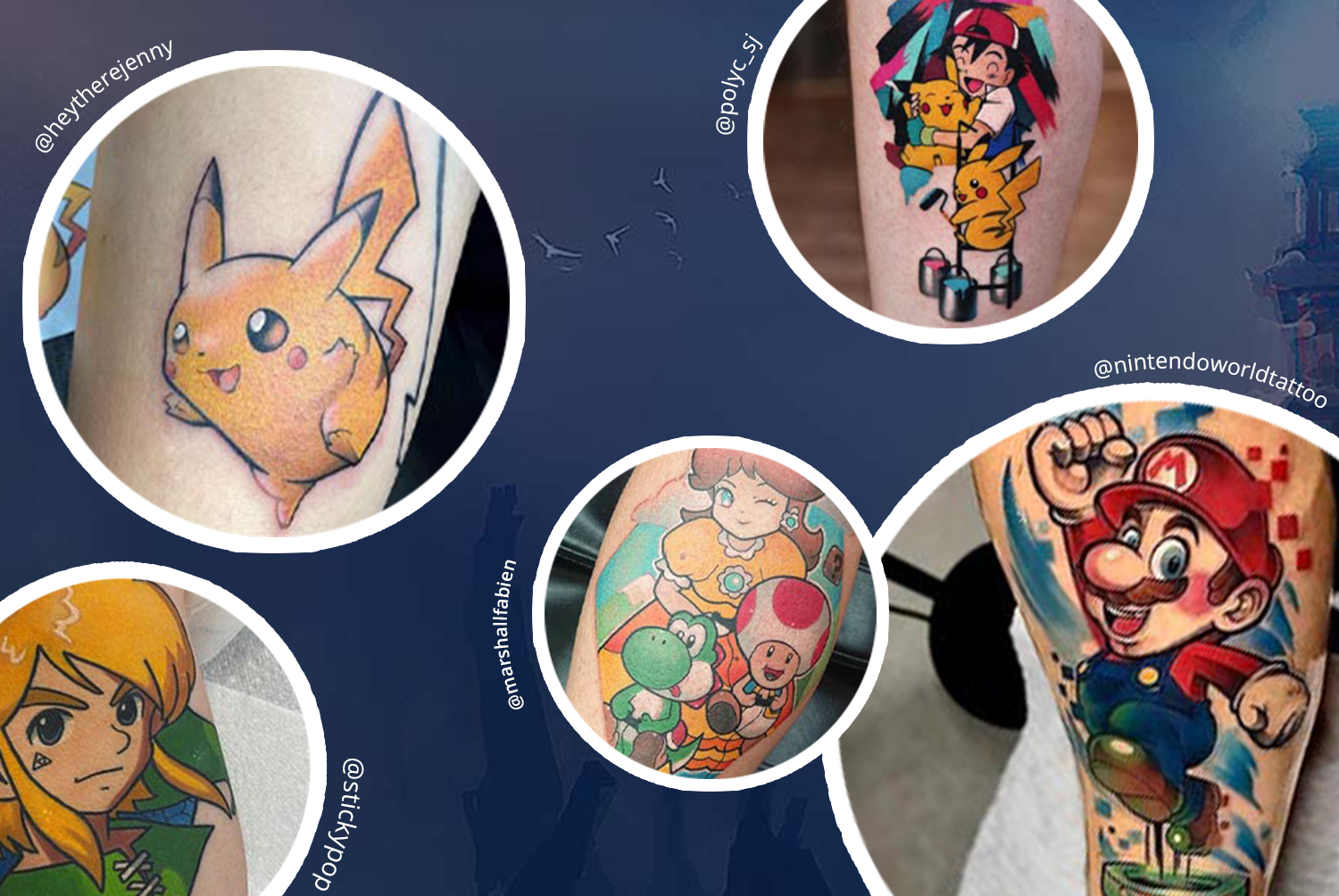 The World's Most Inked Games