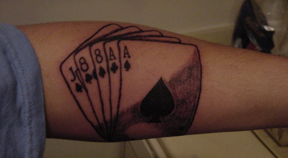Dead Man's Hand tattoo