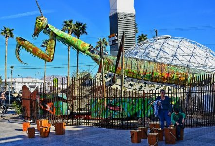 Image of Downtown Container Park.