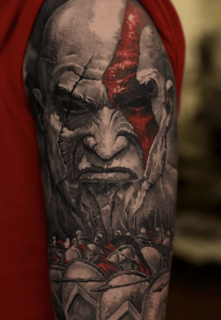Kratos tattoo