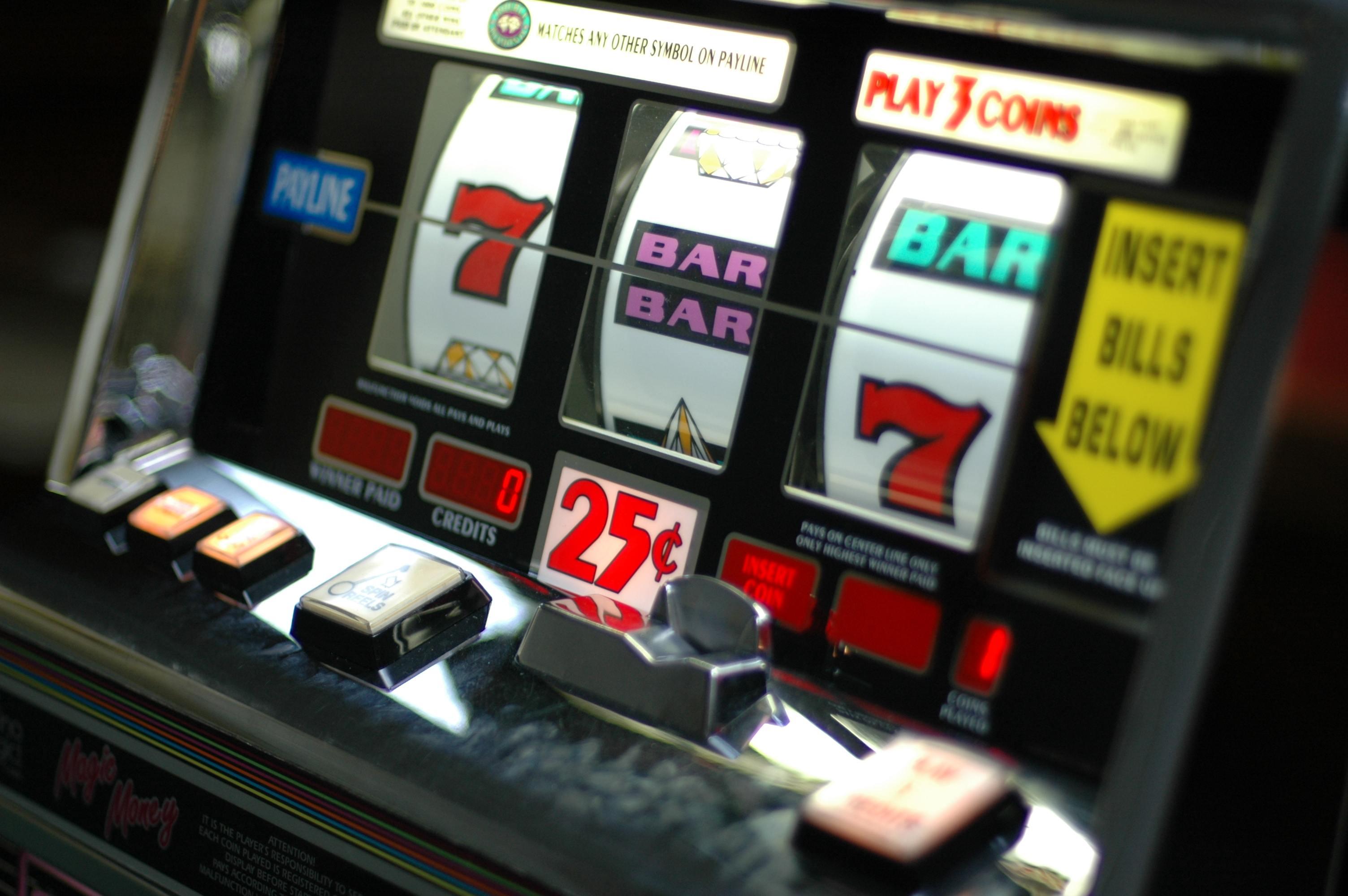 Slot Machine Bar Bar Bar Match
