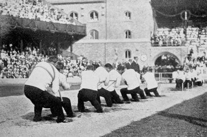 Tug of war at the 1912 olympics