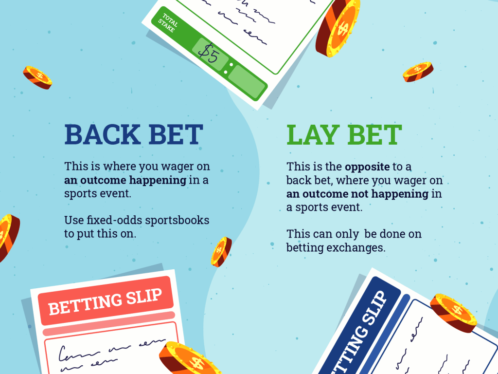Bay and lay bets explained