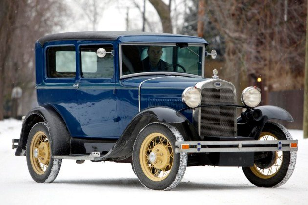 1930 Ford Model A Tudor Sedan Dillinger