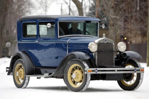 1930 Ford Model A Tudor Sedan Dillinger