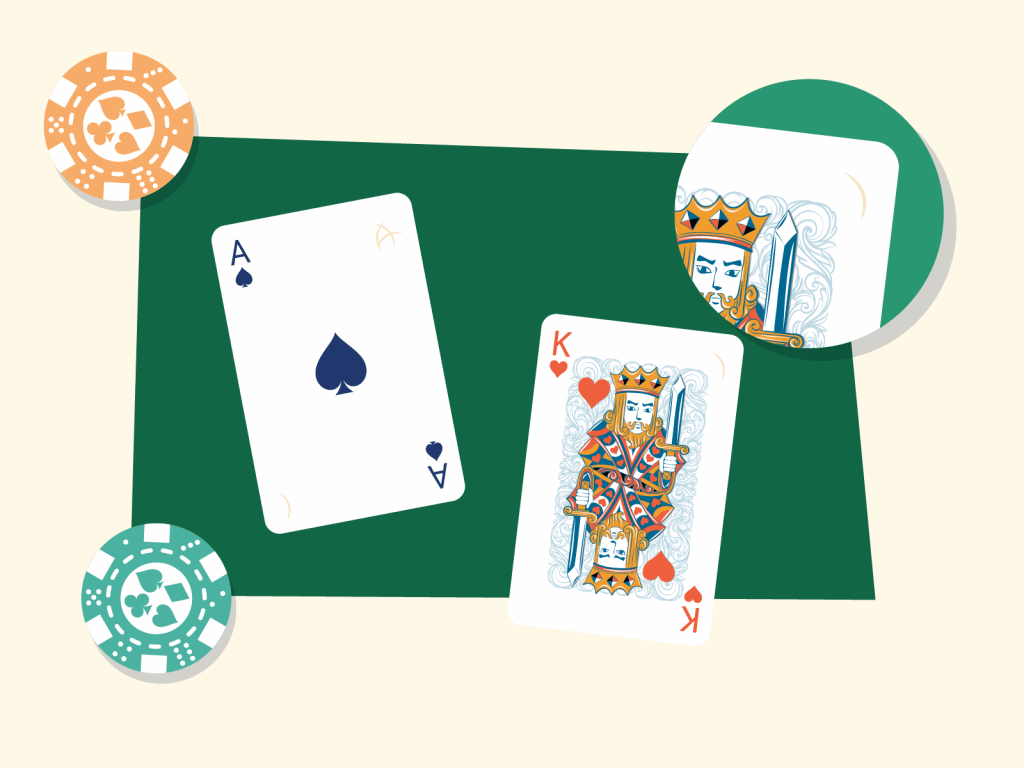 Physical markings on playing cards