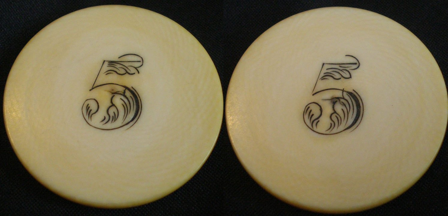 Early casino chips