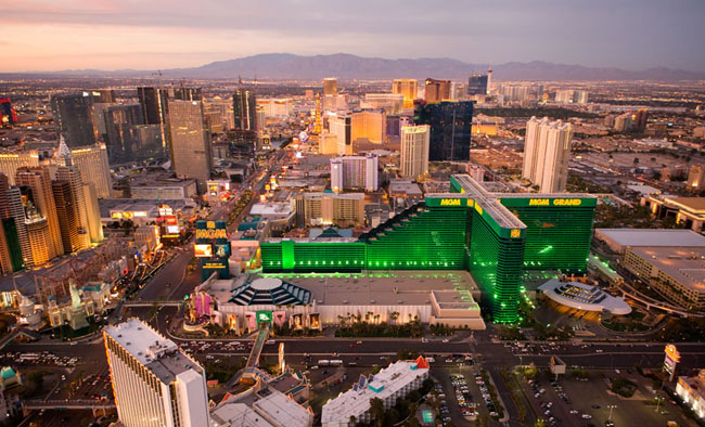 10 Incredible Shots of Las Vegas from Above Casinoorg Blog : 5MGMGrandLasVegas from www.casino.org size 650 x 394 jpeg 139kB