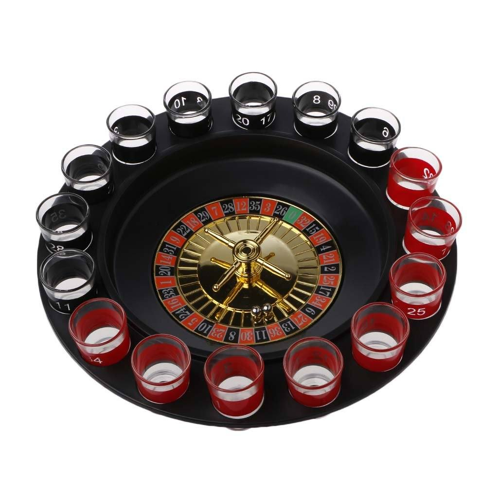 Roulette drinking game.
