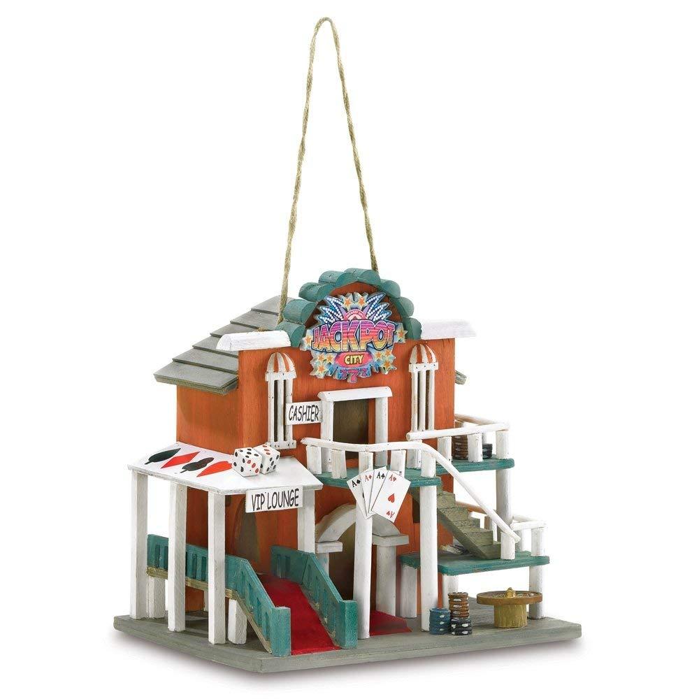 Casino birdhouse.