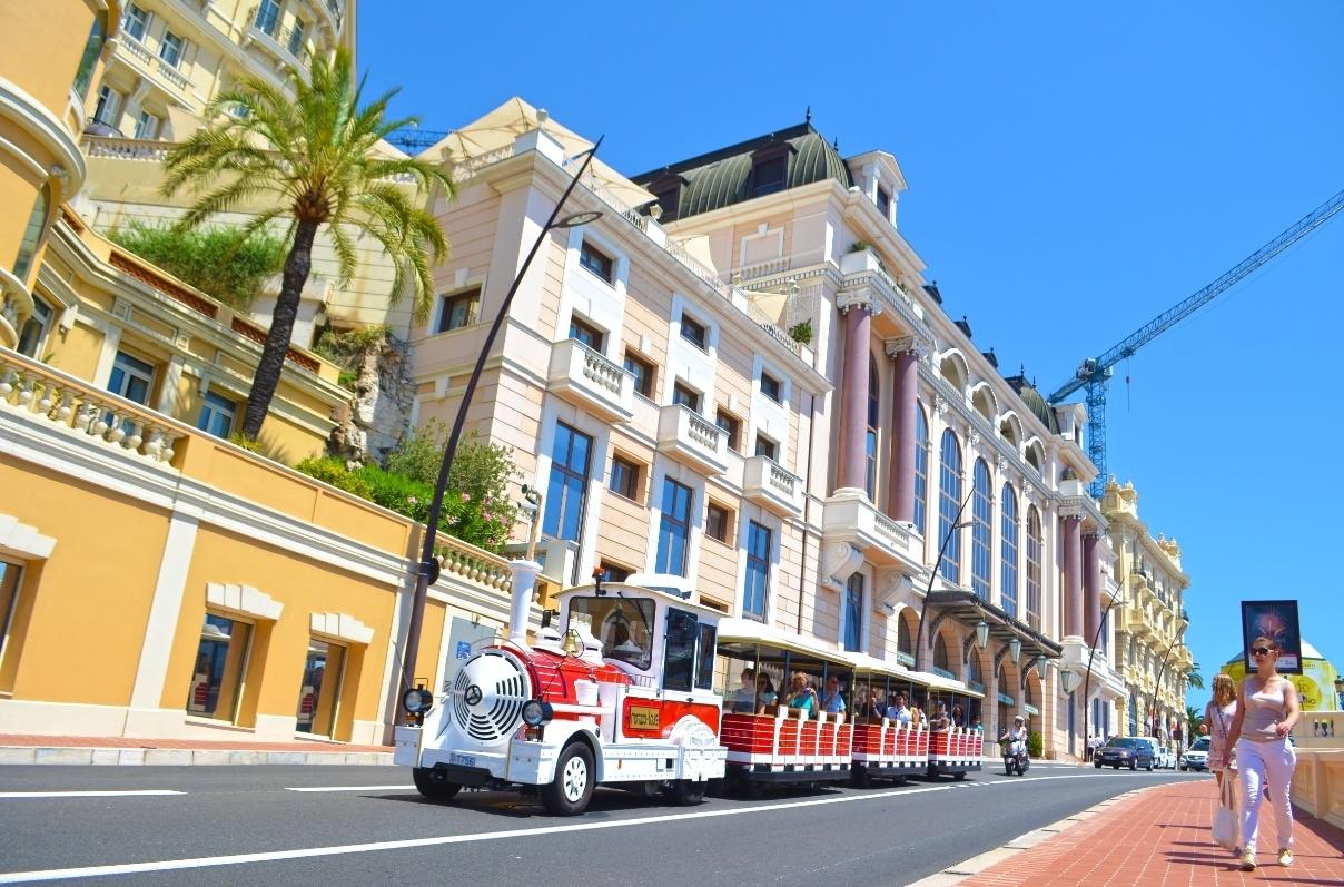 Tourist bus Monaco