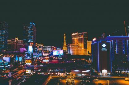 Las Vegas Skyline night