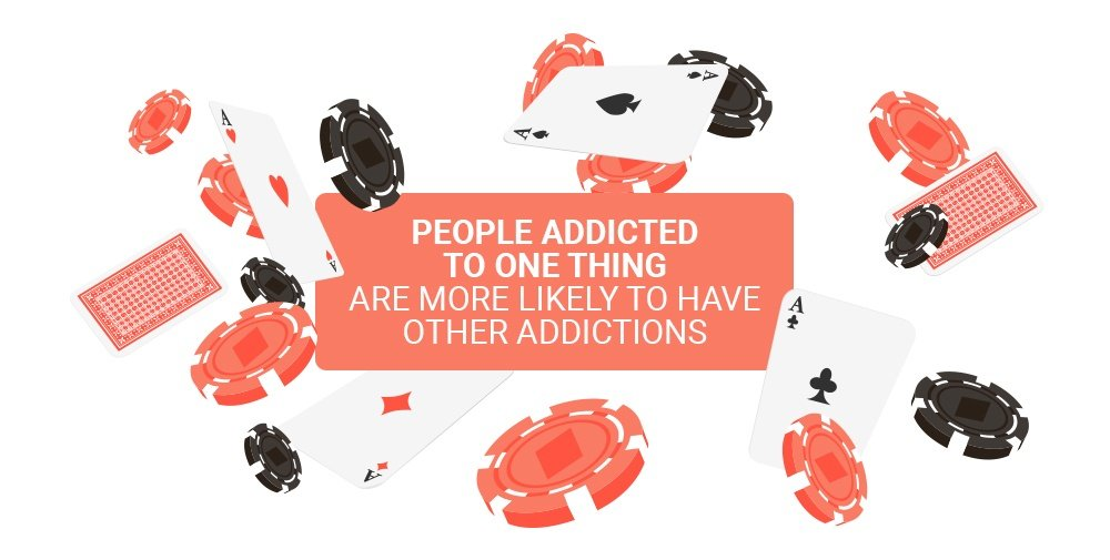 The trends that occur from having an addiction
