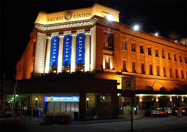 Located inside an historic railway building, the Adelaide is the only licensed casino in South Australia.