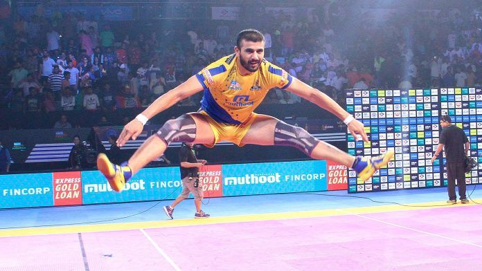 Ajay Thakur - Kabaddi player