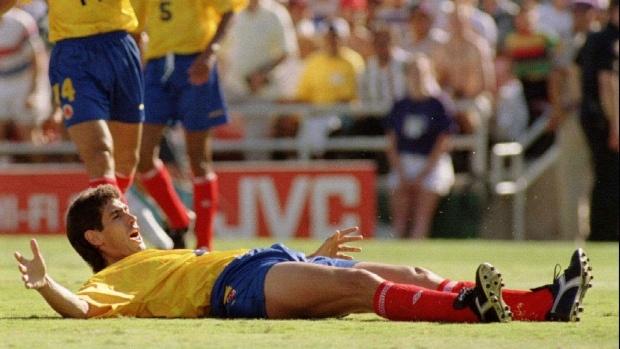 An image of the footballer Andres Escobar