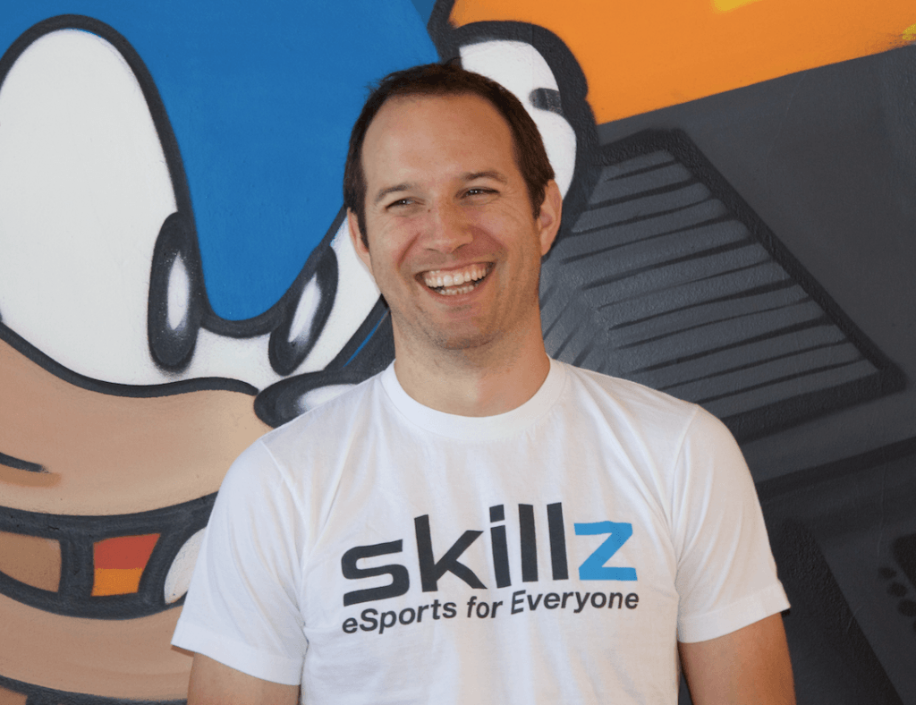 The CEO of Skillz, a platform for eSports tournaments