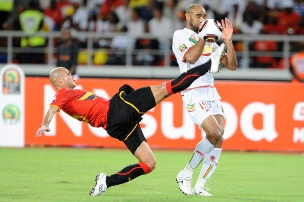 Angola vs Mali in the 2010 African Nations Cup