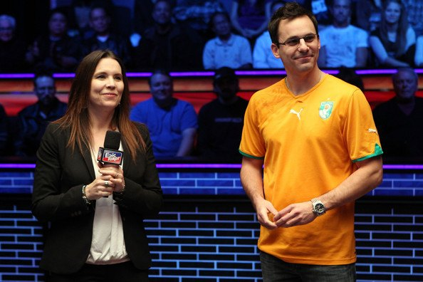 Annie Duke, known for being involved in a poker scandal