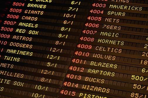 Sports betting arbitrage odds