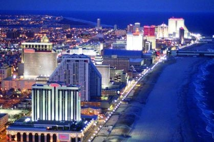 The Atlantic City strip