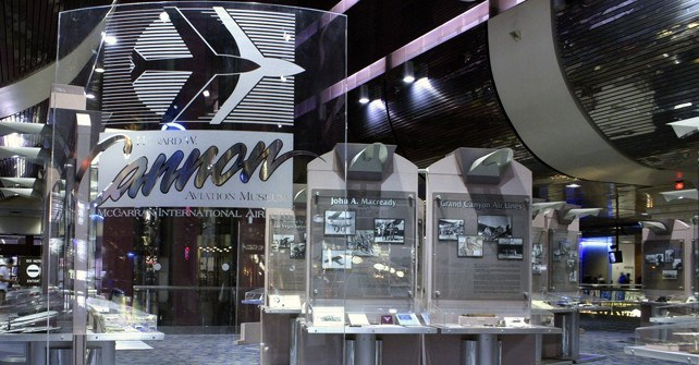 The Howard W.Cannon Aviation Museum in Las Vegas
