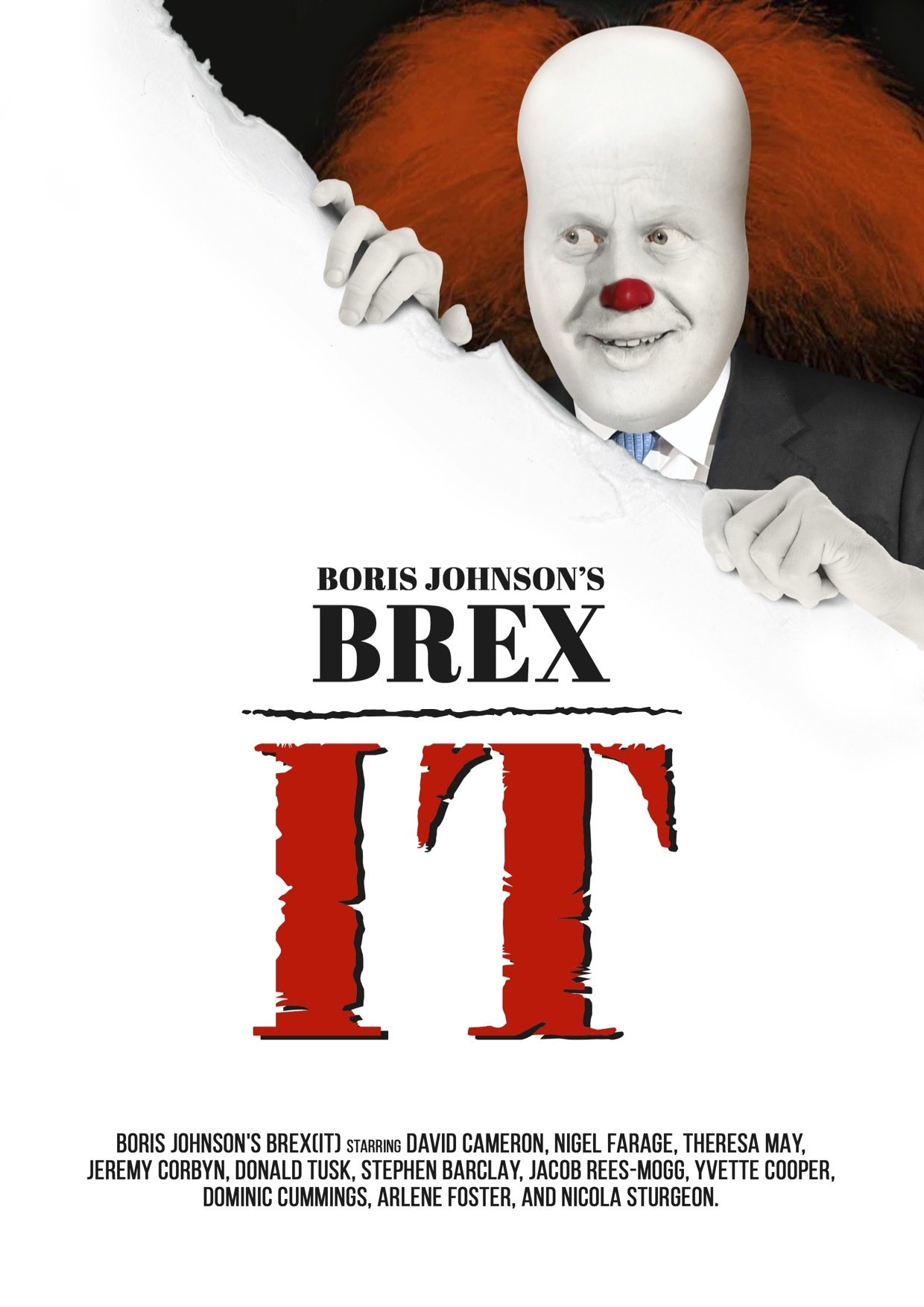 It movie poster, brexit