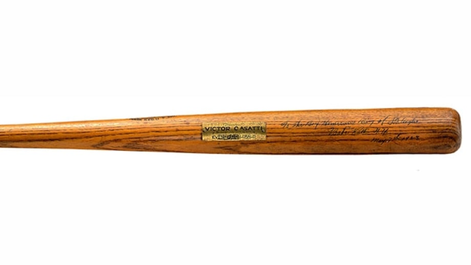 One of the many bats used by Babe Ruth during his incredible career