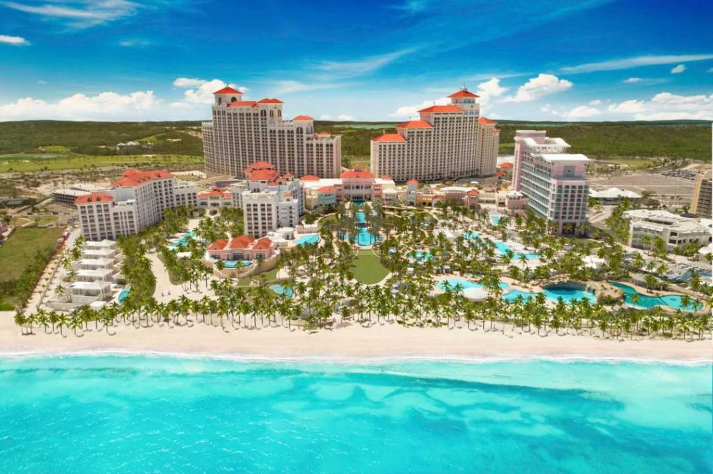 The incredible Baha Mar Casino Resort in the Bahamas