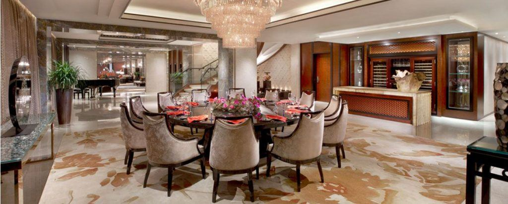 Inside the Presidential Suite at the Banyan Tree Macau