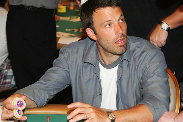 Ben Affleck who has previously admitted to counting cards