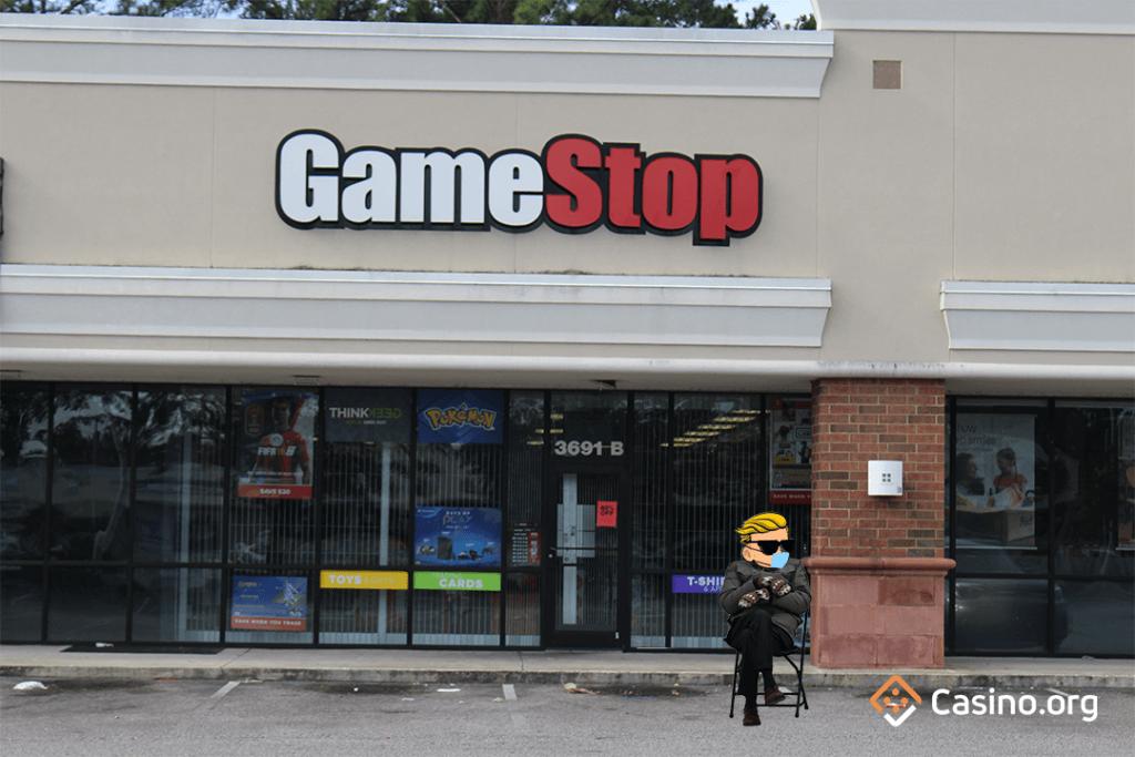 GameStop meme - Bernie