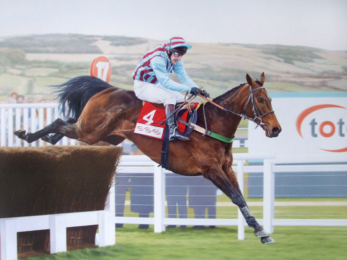 Best Mate was subject to fame after successes in the Cheltenham Gold Cup