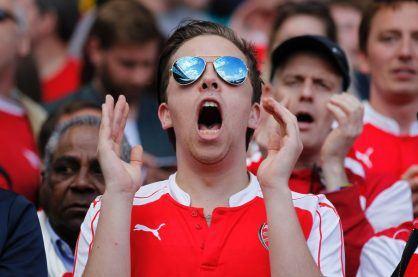 football fan betting reaction