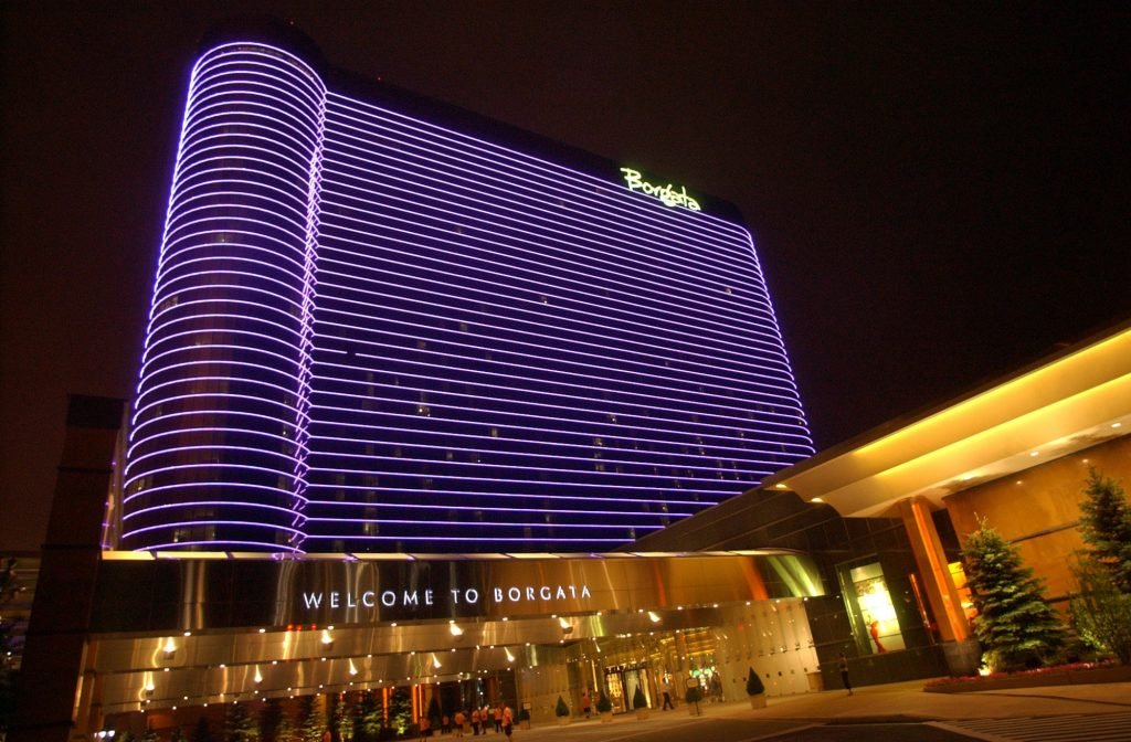 The Borgata Hotel Casino and Spa in Atlantic City