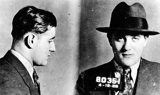 An image of the notorious gangster, Bugsy Siegel