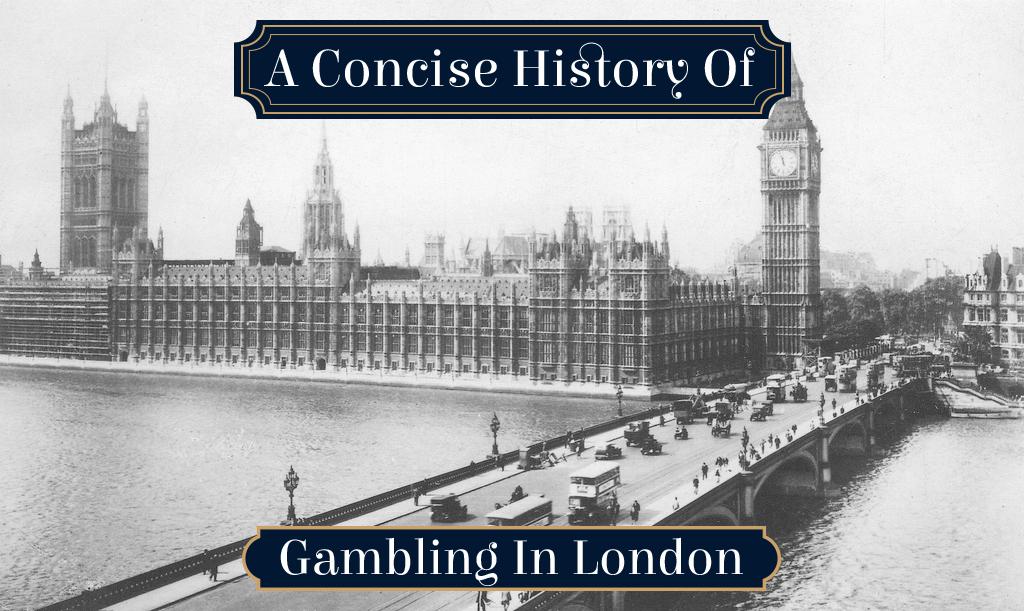 Gambling in london reasons why sports gambling should be illegal
