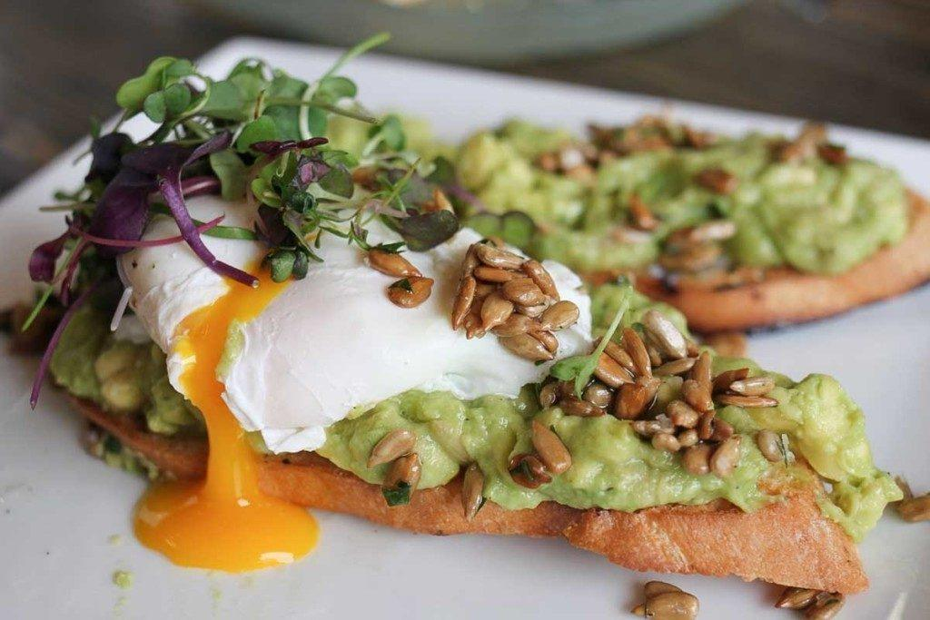 A healthy brunch option available at CRAFTKitchen